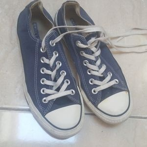 Converse all star womens 7 blue used